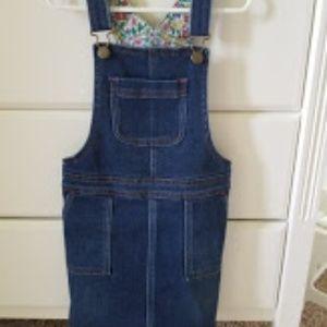 Mini Boden Overall Dress